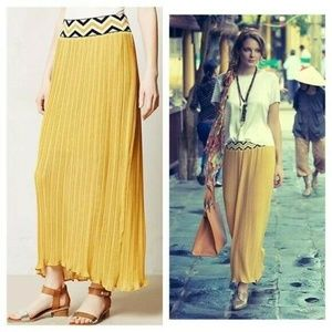 Dear Creatures Patula Maxi Skirt Pleated Large
